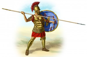Ancient Greek hoplite