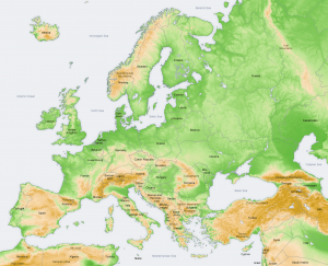 Europe, Physical Geography