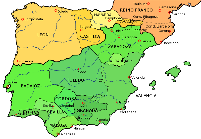 Political Map Of Spain 2017.Europe A History Of Europe Key Battles