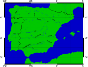 Rivers of the Iberian Peninsula