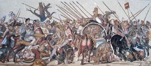 Alexander the Great v Darius III Mosaic