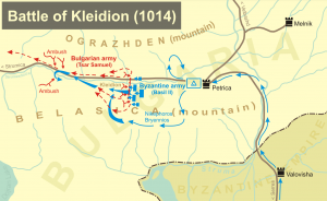 Battle of Kleidion battlefield