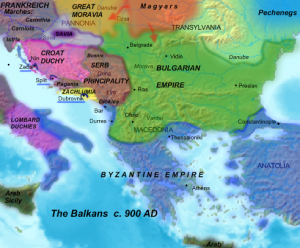The early Medieval Balkans