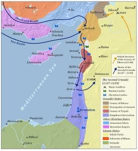 SecondCrusade_Map