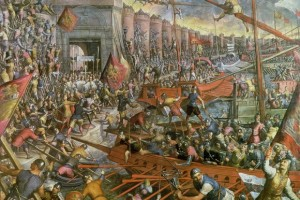 The Capture of Constantinople 1204, Tintoretto