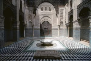 Al Attarine Madrasa, Fez, Marinid