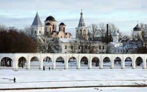 Novgorod snow
